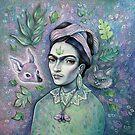 Magical Girl Frida by Brett Manning