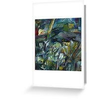 exile landscape with space for rainbow Greeting Card