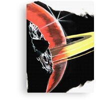 Dark Saturn Canvas Print