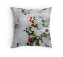 Christmas Magic Throw Pillow