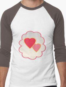 Love-a-lot Bear (low version) Men's Baseball ¾ T-Shirt