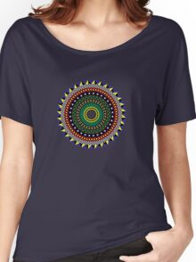 Trippy Mandala Women's Relaxed Fit T-Shirt