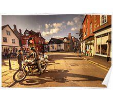 Triumph in Much Wenlock  Poster