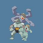 Machop Evol by kjharmon3