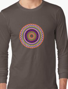 Funky Mandala Long Sleeve T-Shirt