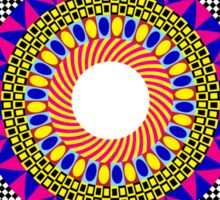 Funky Mandala Sticker