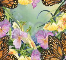 Topaz Wings Pattern Sticker