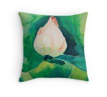 Lotus Throw Pillow