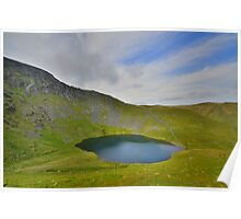 The Lake District: Scales Tarn & Sharp Edge Poster