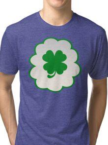 Good Luck Bear (high version) Tri-blend T-Shirt