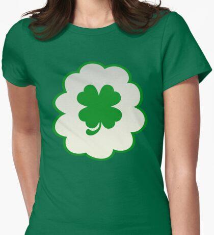 Good Luck Bear (high version) Womens Fitted T-Shirt