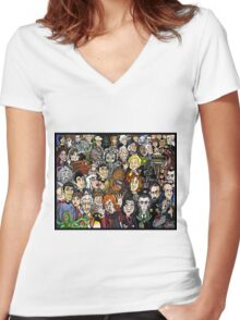 THE INFINITES Special Guests Women's Fitted V-Neck T-Shirt