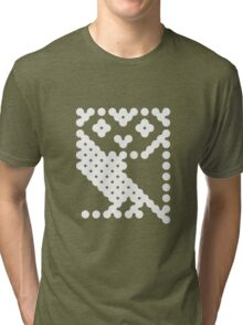 BBC Micro Owl Tri-blend T-Shirt
