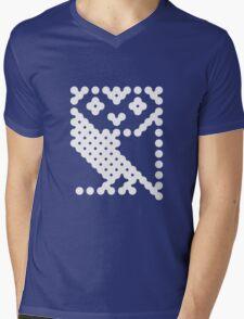BBC Micro Owl Mens V-Neck T-Shirt