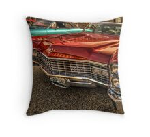 Long Red Caddy Throw Pillow