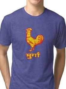 Golden Rooster Tri-blend T-Shirt