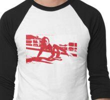 Peggy Oki Men's Baseball ¾ T-Shirt
