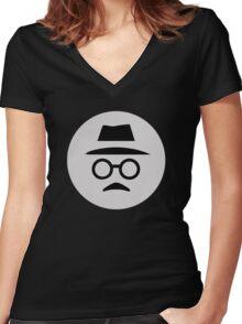 Fernando Pessoa Women's Fitted V-Neck T-Shirt