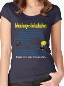 Lebenslangerschicksalsschatz  Women's Fitted Scoop T-Shirt
