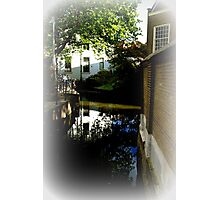 House behind the St. John church in Gouda. Photographic Print