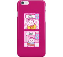 Let's Rock and Roll iPhone Case/Skin