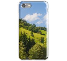 Austria, Tyrol, Zillertal Inn river valley  iPhone Case/Skin