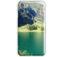 Austria, Tyrol, Hintersee Lake and Landscape iPhone Case/Skin