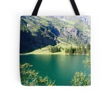 Austria, Tyrol, Hintersee Lake and Landscape Tote Bag