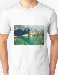 Austria, Tyrol, Hintersee Lake and Landscape T-Shirt