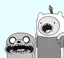 Adventure Time - Finn & Jake WTF by GrowD7