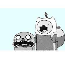 Adventure Time - Finn & Jake WTF Photographic Print