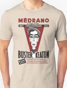 Buster Keaton in Paris Unisex T-Shirt