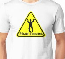 Zombies! Zombie Crossing Unisex T-Shirt
