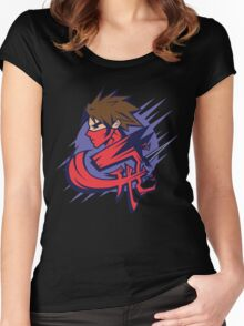 Flying Dragon Women's Fitted Scoop T-Shirt
