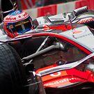Jenson Button - Mclaren MP4-23 by Colin Shepherd