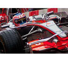 Jenson Button - Mclaren MP4-23 Photographic Print