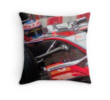 Jenson Button - Mclaren MP4-23 Throw Pillow