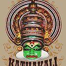 Kathakali Dancer Closeup by ramanandr