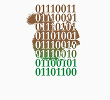 squirrel binary code nature animal design Unisex T-Shirt