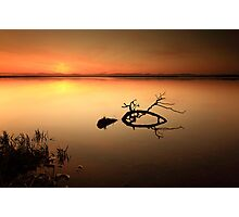 Loch Leven Sunset Photographic Print