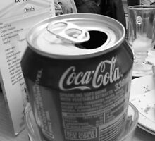 SPENT COKE CAN by Terry Collett