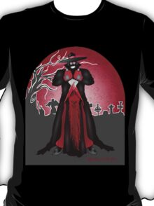 Dark Caped Mortuary Slasher T-shirt T-Shirt
