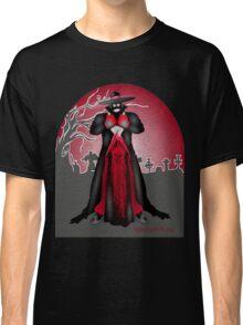 Dark Caped Mortuary Slasher T-shirt Classic T-Shirt