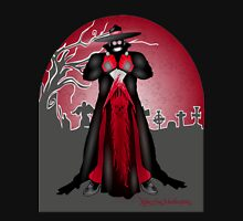 Dark Caped Mortuary Slasher T-shirt Unisex T-Shirt