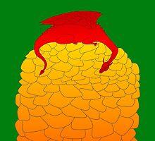 Resting dragon by CathySW