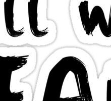 #PRAYFORPARIS - WHITE Sticker