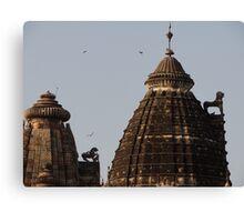 Khajuraho Temples Canvas Print