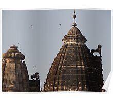 Khajuraho Temples Poster