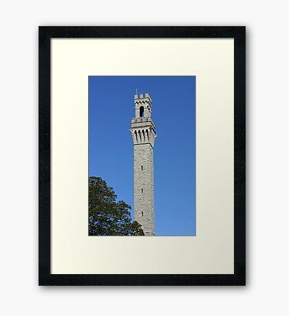 Pilgrim Monument Framed Print