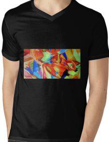 """""""Open hearts"""" Mens V-Neck T-Shirt"""